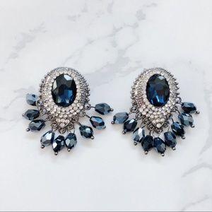 Jewelry - Gorgeous Sapphire Drop Earrings